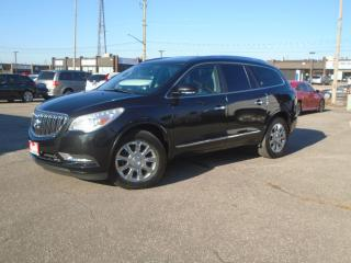 Used 2013 Buick Enclave AWD 7PASS Leather NAVIGATION  PANORAMIC LANE KEEP for sale in Oakville, ON