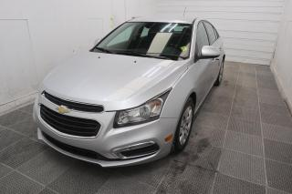 Used 2015 Chevrolet Cruze 1LT for sale in Winnipeg, MB