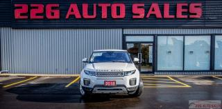 Used 2018 Land Rover Range Rover Evoque SE|ACCIDENT FREE|LEATHER|NAV|SUNROOF for sale in Brampton, ON