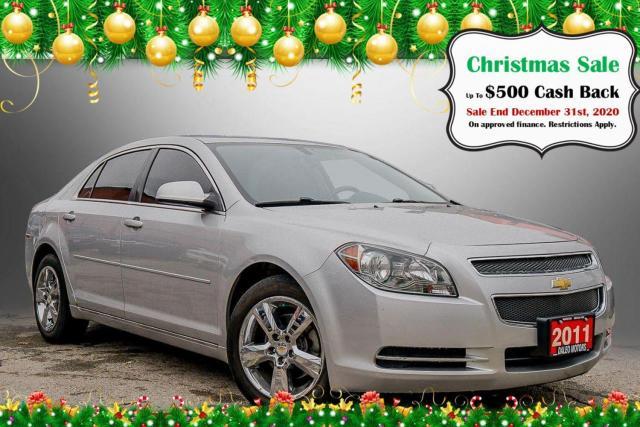 2011 Chevrolet Malibu LT Platinum Edition / HEATED SEATS / BLUETOOTH