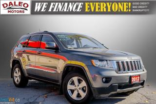 Used 2012 Jeep Grand Cherokee Laredo / 4WD / LEATHER / PANO / HEATED SEATS for sale in Hamilton, ON