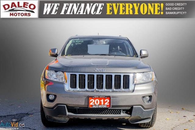 2012 Jeep Grand Cherokee Laredo / 4WD / LEATHER / PANO / HEATED SEATS Photo3