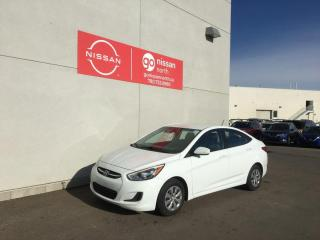 Used 2016 Hyundai Accent GL 4dr FWD Sedan for sale in Edmonton, AB