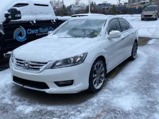 Used 2014 Honda Accord Sedan Sport 4dr FWD Sedan for sale in Red Deer, AB