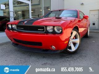 Used 2010 Dodge Challenger SRT8 for sale in Edmonton, AB