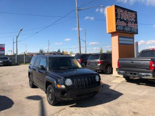 Used 2008 Jeep Patriot SPORT**4 CYLINDER**4X4**ONLY 187KMS**AS IS for sale in London, ON