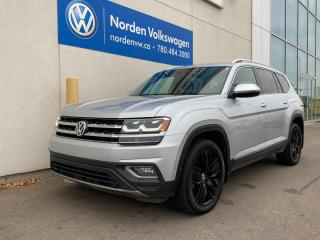 Used 2018 Volkswagen Atlas EXECLINE WITH ALLOY PKG / 7 PASS / CERTIFIED for sale in Edmonton, AB