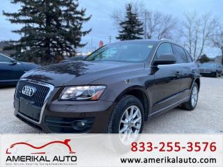 Used 2012 Audi Q5 2.0L Premium Plus for sale in Winnipeg, MB