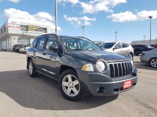 Used 2007 Jeep Compass Sport/5-SPEED/4WD/ALLOYS!! for sale in Pickering, ON