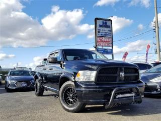 Used 2012 RAM 1500 4WD Quad Cab 140.5  ST | 5.7 V8 Hemi |Remote sta for sale in Brampton, ON