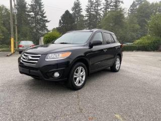 Used 2012 Hyundai Santa Fe Limited w/Navi for sale in Surrey, BC