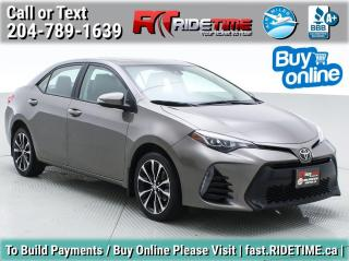 Used 2017 Toyota Corolla SE for sale in Winnipeg, MB