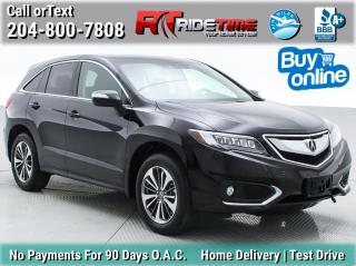 Used 2017 Acura RDX elite pkg for sale in Winnipeg, MB