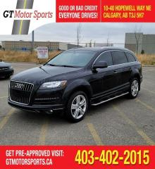 Used 2014 Audi Q7 3.0T Technik | $0 DOWN - EVERYONE APPROVED! for sale in Calgary, AB
