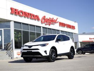 Used 2017 Toyota RAV4 SE AWD | NAVIGATION | LOCAL for sale in Winnipeg, MB