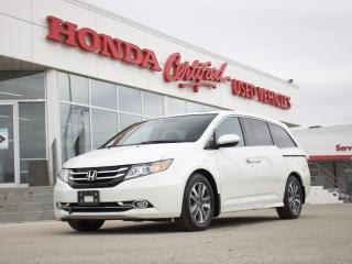Used 2017 Honda Odyssey Touring | NAVI | DVD | LOADED! for sale in Winnipeg, MB