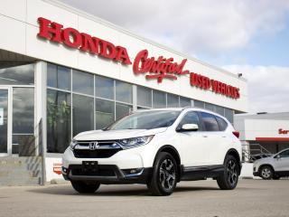 Used 2018 Honda CR-V Touring AWD | NAVI | LOADED| LOCAL for sale in Winnipeg, MB