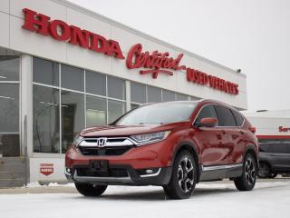 Used 2019 Honda CR-V Touring AWD   NAVI   LOADED! for sale in Winnipeg, MB