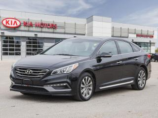 Used 2015 Hyundai Sonata 2.4L Sport **Leather | Sunroof | Heated Seats ** for sale in Winnipeg, MB