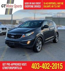 Used 2014 Kia Sportage SX Luxury I AWD| $0 DOWN - EVERYONE APPROVED! for sale in Calgary, AB