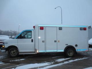 Used 2010 Chevrolet Express 3500 3500 159  WB - Ambulance - low KMs for sale in Winnipeg, MB
