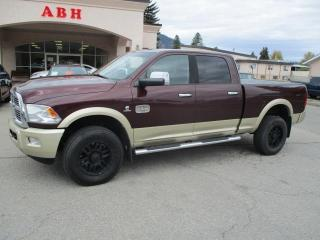 Used 2012 RAM 3500 LARAMIE LONGHORN 4X4 for sale in Grand Forks, BC