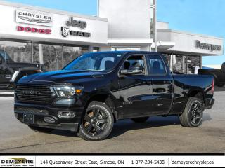 New 2020 RAM 1500 Big Horn Night Edition for sale in Simcoe, ON
