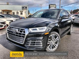 Used 2018 Audi Q5 2.0T Technik S-LINE  LEATHER  PANO ROOF  NAVI  BLI for sale in Ottawa, ON