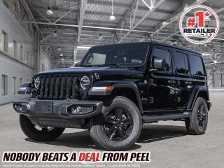 New 2021 Jeep Wrangler Unlimited Sahara Altitude for sale in Mississauga, ON