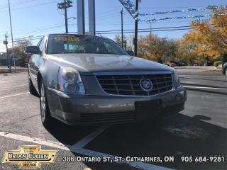 Used 2010 Cadillac DTS w/1SD for sale in St Catharines, ON