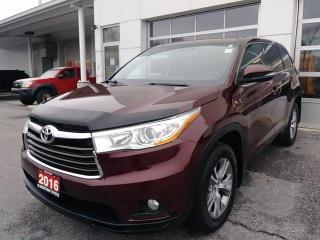 Used 2016 Toyota Highlander AWD 4dr LE for sale in North Bay, ON