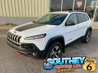 Used 2017 Jeep Cherokee Trailhawk for sale in Southey, SK