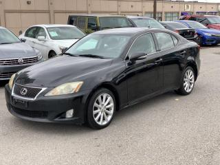 Used 2009 Lexus IS 250 ONE OWNER IS250 AWD /1 YEAR WARRANTY INCLUDED for sale in Brampton, ON