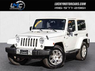 Used 2015 Jeep Wrangler SAHARA-AUTO-LEATHER-NAVI-LOADED-NO ACCIDENTS for sale in Toronto, ON