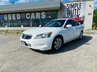 Used 2010 Honda Accord Sedan 4dr I4 Auto EX-LSedan 4dr I4 Auto EX-L for sale in Barrie, ON