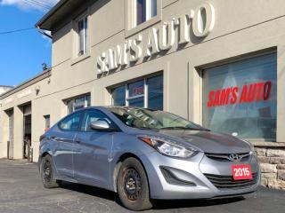 Used 2015 Hyundai Elantra 4DR SDN for sale in Hamilton, ON