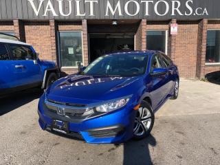 Used 2016 Honda Civic Sedan 4dr CVT LX for sale in Brampton, ON