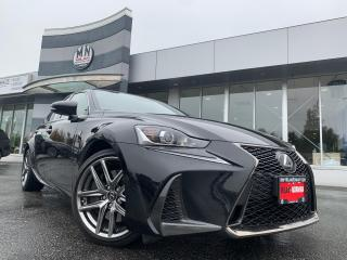 Used 2017 Lexus IS 350 F SPORT AWD LEATHER SUNROOF NAVI CAMERA 42KM for sale in Langley, BC