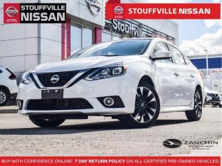 Used 2017 Nissan Sentra SR Turbo  Manual  Clean Carfax  Sport Trim  188HP for sale in Stouffville, ON