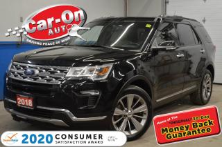 Used 2018 Ford Explorer LIMITED | NAVIGATION | 401A SAFE and SMART PKG for sale in Ottawa, ON
