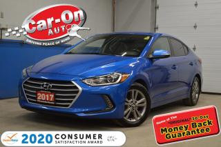 Used 2017 Hyundai Elantra GL -  LOW LOW PAYMENTS | HEATED SEATS & STEERING for sale in Ottawa, ON