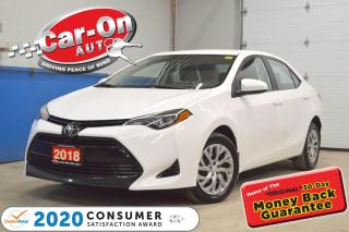 Used 2018 Toyota Corolla LE UPGRADE only 32,000 KM | AUTO | AIR COND for sale in Ottawa, ON