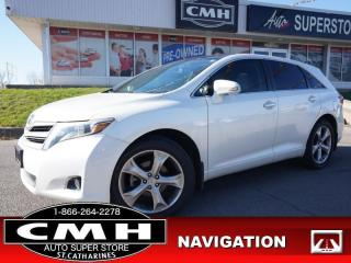 Used 2014 Toyota Venza AWD V6 Limited  AWD NAV CAM LEATH ROOF for sale in St. Catharines, ON