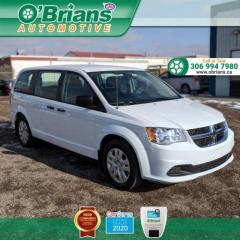 Used 2019 Dodge Grand Caravan CVP - Accident Free! w/Backup Camera, Cruise Control, A/C for sale in Saskatoon, SK