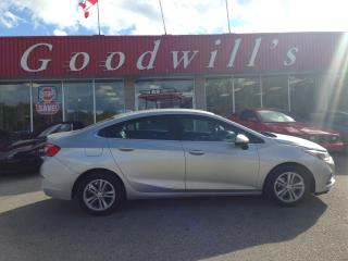 Used 2016 Chevrolet Cruze LT! HEATED SEATS! REMOTE START! BACKUP CAM! B/T! for sale in Aylmer, ON