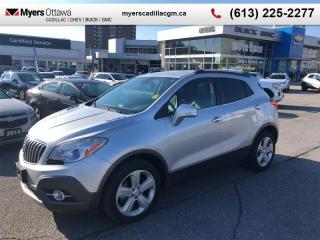 Used 2015 Buick Encore Leather  LEATHER , AWD, SUNROOF, HEATED SEATS, REMOTE START for sale in Ottawa, ON