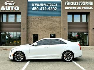 Used 2016 Cadillac ATS ATS-V for sale in St-Eustache, QC