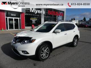 Used 2015 Nissan Rogue SL  - Sunroof -  Leather Seats - $154 B/W for sale in Orleans, ON