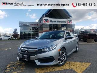 Used 2016 Honda Civic Sedan LX  - Bluetooth -  Heated Seats - $118 B/W for sale in Ottawa, ON