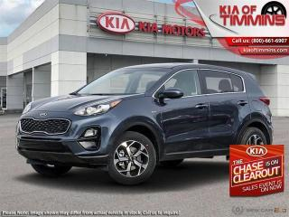 New 2021 Kia Sportage LX AWD  - Heated Seats -  Apple CarPlay for sale in Timmins, ON